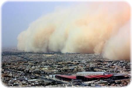 東京の砂嵐