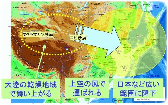 砂漠の地図