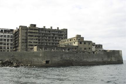 軍艦島のマンション