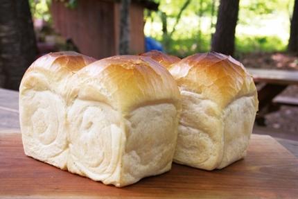 ふっくらした食パン