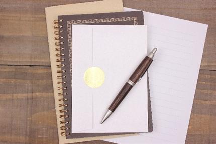 手紙とノート