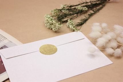 手紙とドライフラワー