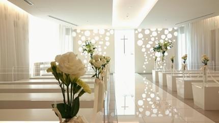 美しい結婚式場
