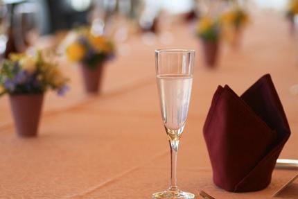 結婚式のグラス