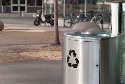 外国のリサイクルボックス