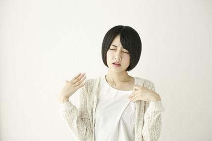 多汗症の女性