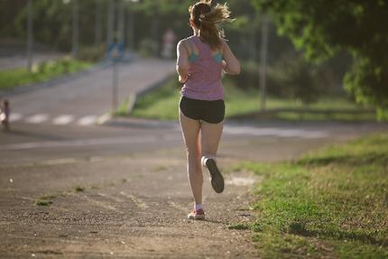 ジョギングで美しく