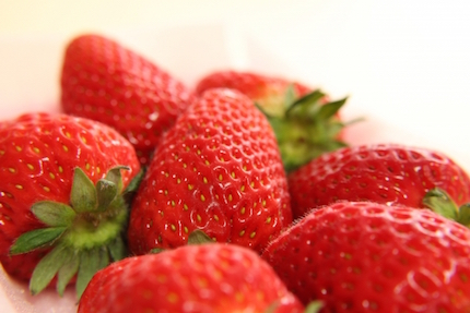 ビタミンが多いイチゴ