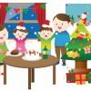 子供と一緒に作るクリスマスツリー♪手作りには手軽な布を使おう